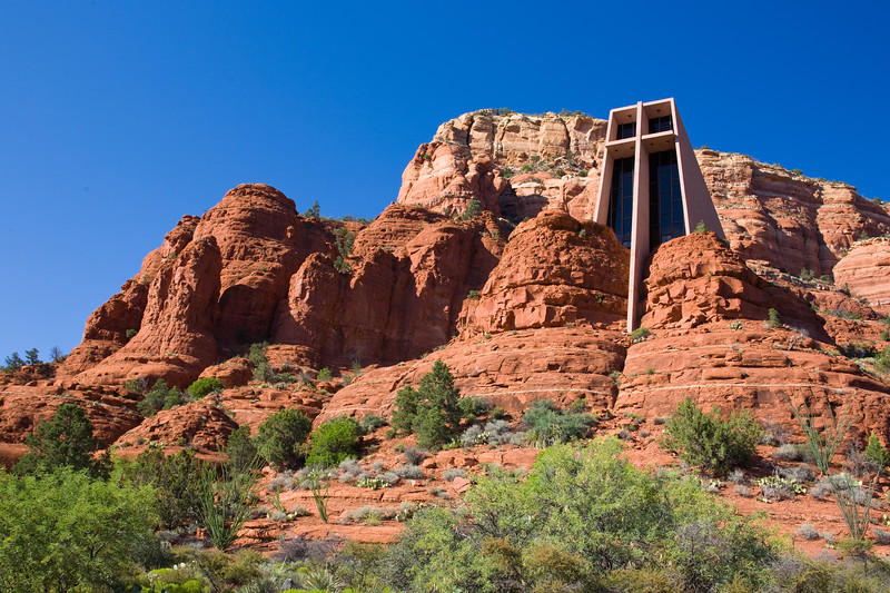 AZ-Sedona-Church in the Sky<br /> <br /> This is one the Icons that Sedona is know for...
