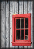 Old Red Window