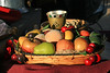 AZ-Apache Junction-Renaissance Festival Last Day of the Year<br /> <br /> Fruit, Nuts and Drink Fit for a King...