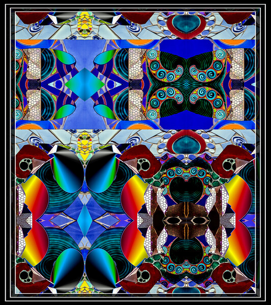 """ART, Box Cuts Kaleidoscope Effect Sectioned and Mirrored  Just Playing Around...  </font> <a href=""""http://www.rickwillis-photos.com/Portfolio/Best/Hidden-Photos-Without-Frames/26709550_DZD78d#!i=2330619763&k=GHhMx9N""""> <font color=""""Red""""> Link to Photo Without Frame </a> </font>"""