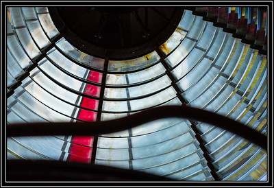 Cape Meares Lighthouse - Fresnel Lens