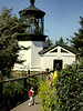 """V-OR-Cape Perpetua-1996-07-13-S0002  <a href=""""https://www.rickwillis-photos.com/Photography/Categories/Lighthouses"""" target=""""_blank"""">Link to Other Lighthouses</a>"""