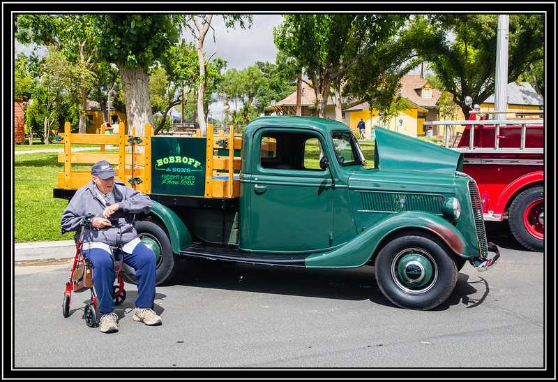 1937 Ford 1/2 Ton Stake Truck