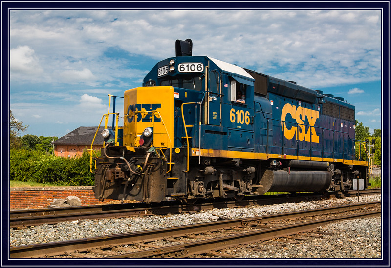 Locomotive CSX 6106