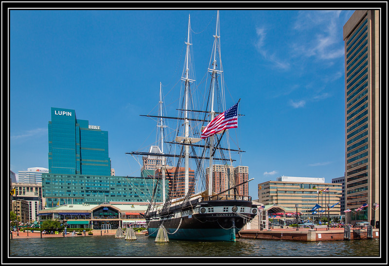 """Alphabet Challenge – """"F"""" is for the """"Frigate"""" USS Constellation"""
