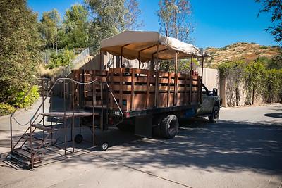 The Caravan Safari Truck awaits