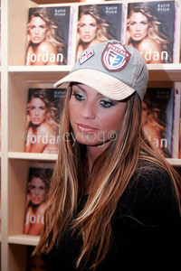 Katie Price aka Jordan at a book signing in Newcastle 2006