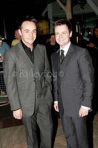 Ant McPartlin and Declan Donnelly arrive at The Charity Premiere of Alien Autopsy, at The Gate, Newcastle upon Tyne 4 April 2006.