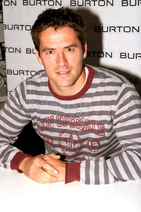 "Newcastle and England player Michael Owen launched his clothing line ""TEN"" at Burtons in the Metro Centre, Gateshead 01 December 2005"