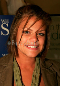 "Jade Goody signs copies of her book ""Jade"" at WH Smiths in Newcastle upon Tyne 15 June 2006"
