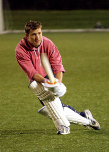 Ben Shephard at The Celebrity Team cricket session for The Match in Newcastle - 03 October 2005