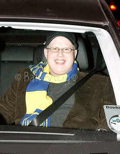 "Matt Lucas of ""Little Britain"" leave the City Hall Newcastle upon Tyne 26 January 2006"