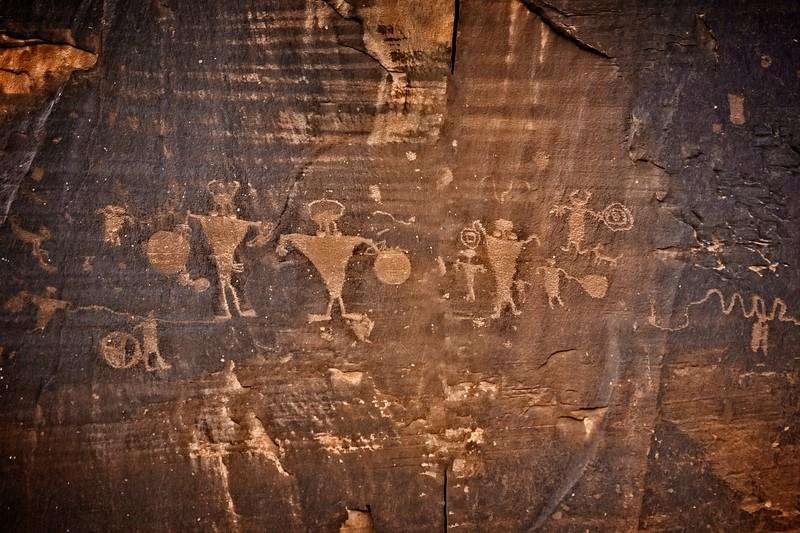 Petroglyphs in Colorado National Monument.<br /> © Cindy Clark