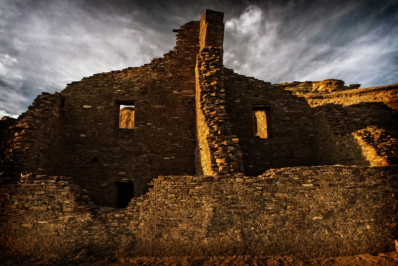 Chaco Pueblo Bonito<br /> Photo © Cindy Clark