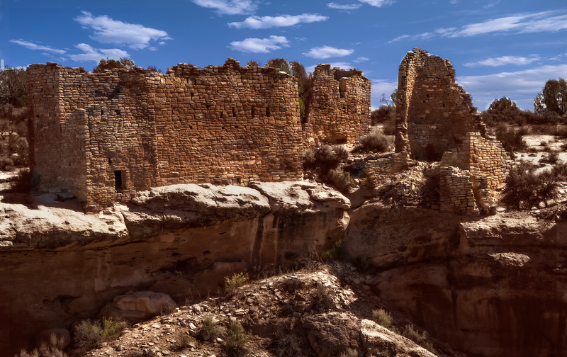 Hovenweep Ruins<br /> Photo © Cindy Clark