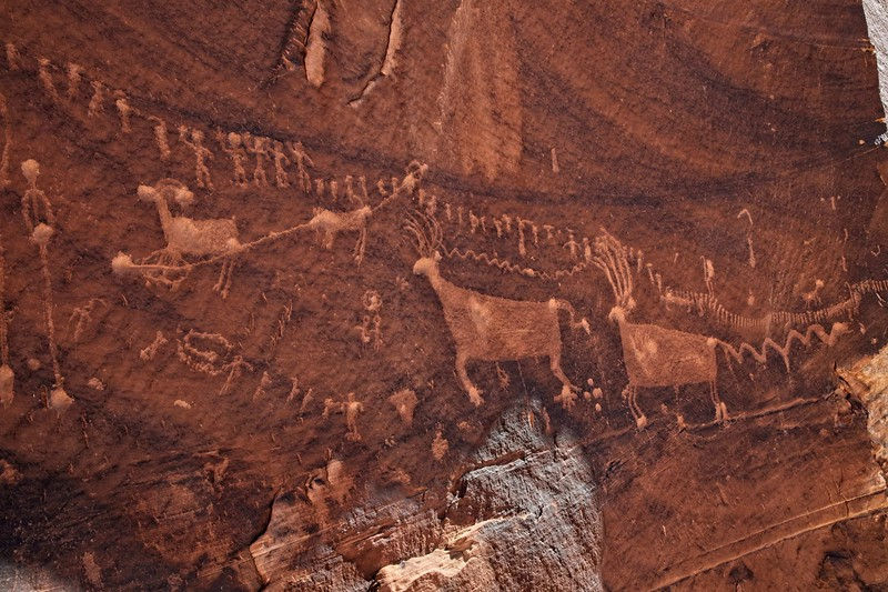Procession Panel, Comb Ridge near Bluff, Utah.<br /> © Cindy Clark