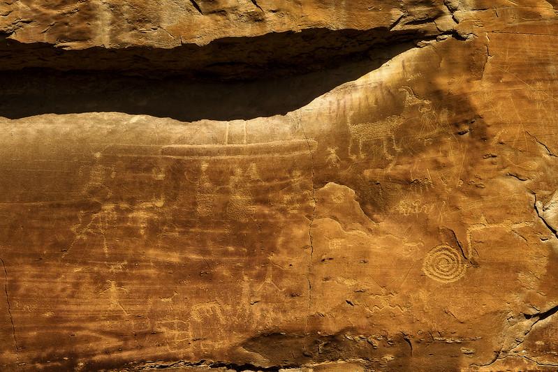 Chaco Petroglyphs<br /> Photo © Cindy Clark