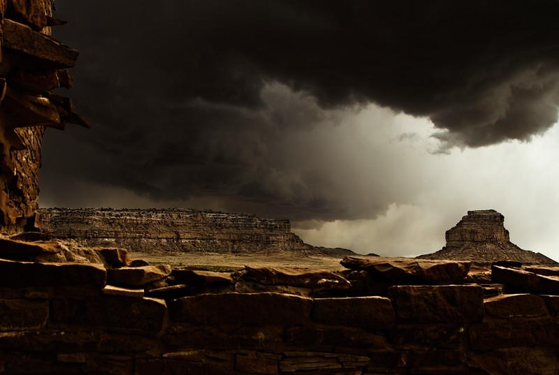 Fajada Storm<br /> Photo © Cindy Clark