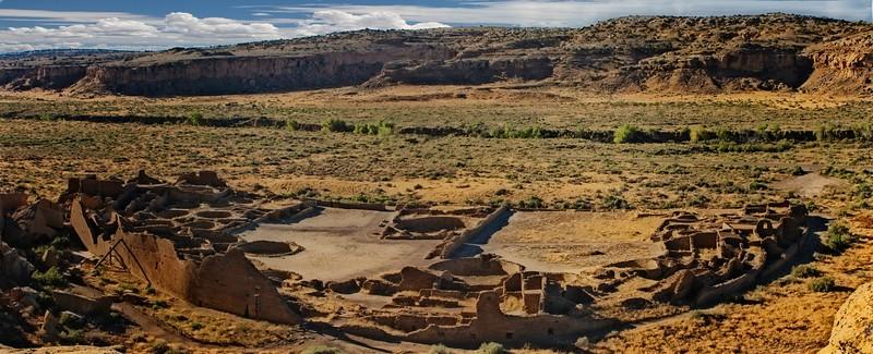 Pueblo Bonito from Cliffs<br /> Photo © Cindy Clark