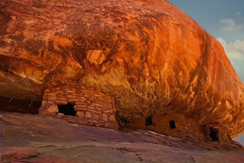 House of Fire - ancestral Pueblo ruins in southern Utah.<br /> Photo © Cindy Clark