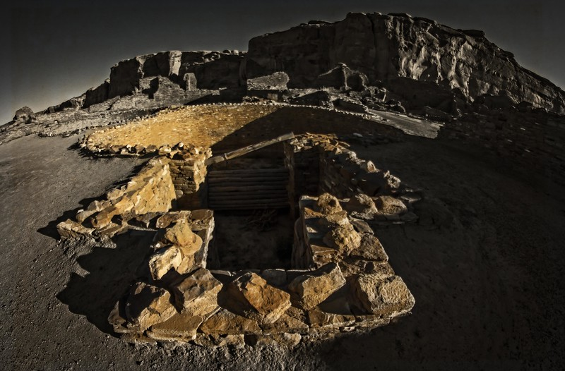 Chaco Kiva<br /> Photo © Cindy Clark