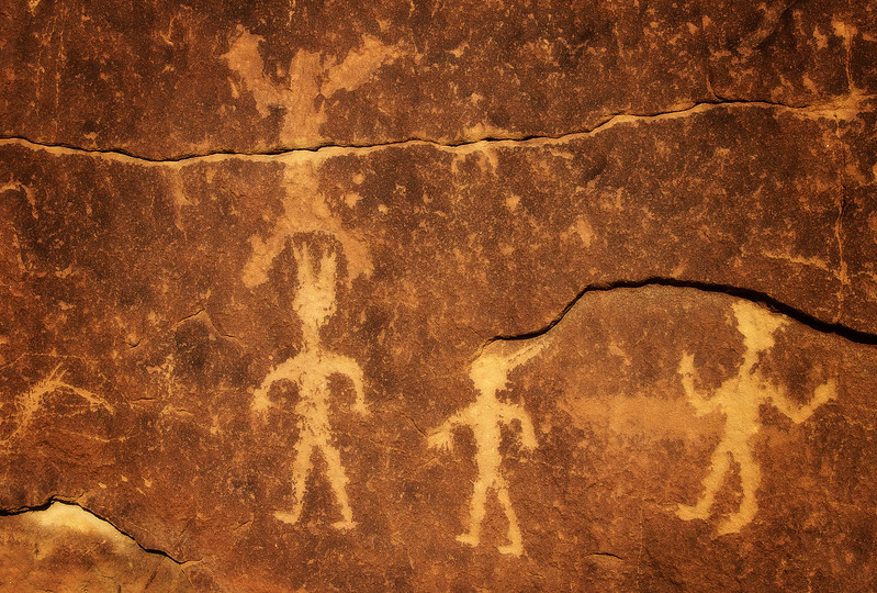 Chaco Petroglyphs<br /> Photo © Cindy Clark