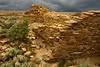 Peñesco Blanco ruins, Chaco Canyon.<br /> © Cindy Clark