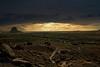 Ominous Clouds over Fajada Butte<br /> Photo © Carl Clark