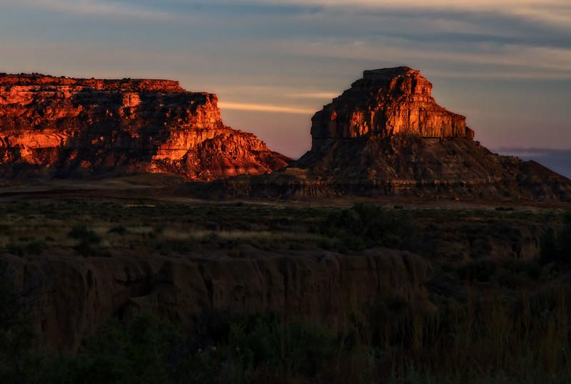 Chaco Sunset<br /> Photo © Cindy Clark