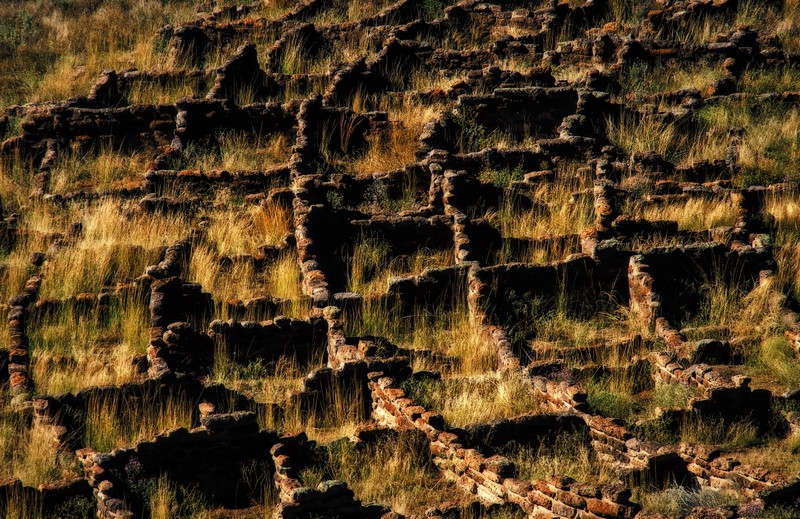 Bandelier ruins.<br /> Photo © Cindy Clark