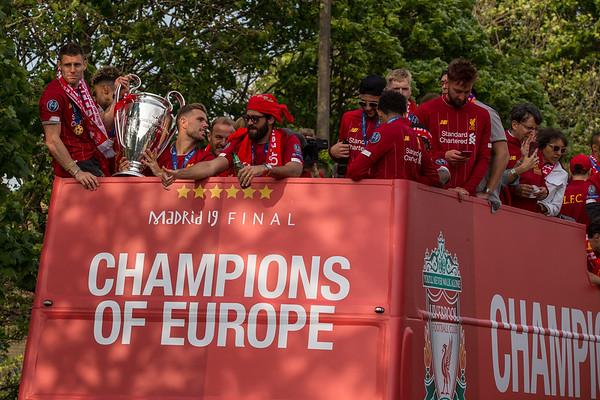Liverpool FC Champions League Parade 2019