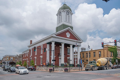 Charles Town Court House.  Where John Brown was tried and sentenced to death by hanging.