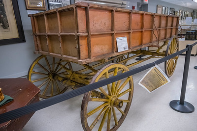 The wagon that brought John Brown to the gallows - Jefferson County Museum