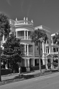 Charleston Architecture on the Battery