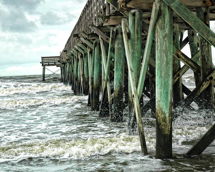The pier at Isle of Palms, South Carolina