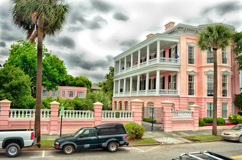 Pink House on the Battery
