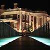 Hunter Museum At Night - View from Glass Walking Bridge