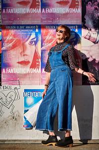 Sept. 29, 2018, 2018 - New York, NY Chelsea Art Galleries - Portraits with Diana Juliette Cassie  Ugo Rondine Petah Coyne  Photographer- Robert Altman Post-production- Robert Altman