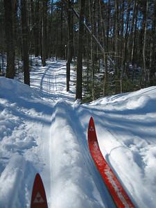 Rock Lake Ski Trail.
