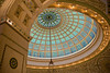 Wednesday, 19 November 2008- The Tiffany dome in Preston Bradley Hall, Chicago Cultural Center.