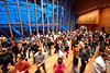 6 February 2010- The Pritzker Pavilion stage full of dancers for the Chicago Office of Tourism Winter Dance festival, free for all throughout February.