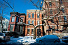 11 February 2010- Historic homes in the Mid-North District of the Lincoln Park neighborhood.