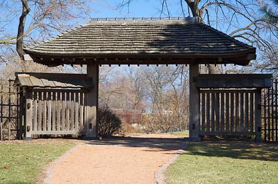 Japanese Garden entrance - Jackson Park