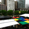 Rainy Day in Chicago Illinois