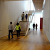 Walking in the Art Institute in Chicago Illinois