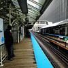 Riding the El in Chicago Illinois