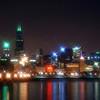 Chicago Skyline - St. Patrick's Day