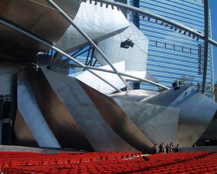 Jay Pritzker Pavillion Millennium Park by Frank Gehry