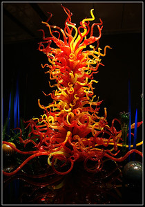 """The Tree Of Fire"" Very large piece overlooking the jungle."