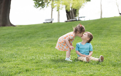 Noah and Claire 2 yrs old 6/17